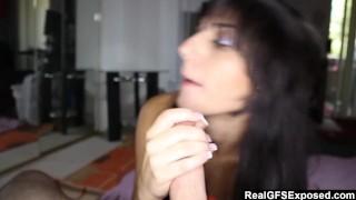 RealGfsExposed - Hot Brunette Girlfriend Lisa Wants a dick