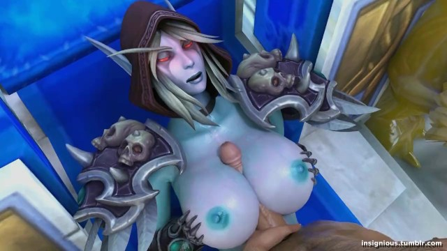 Worlld of warcraft hentai doujins Sylvanas part 2 - world of warcraft sfm insignious