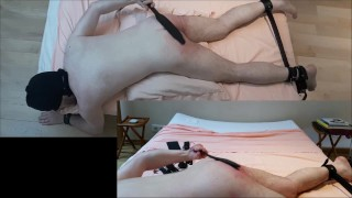 For hairy punishment butt huge plug daddy paddle hard spanking flogging large red