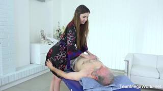 Rose oldnyoungcom body elle full massage exciting shaved drilled