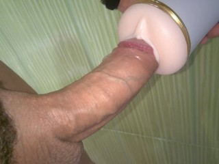 Fleshlight cock milking