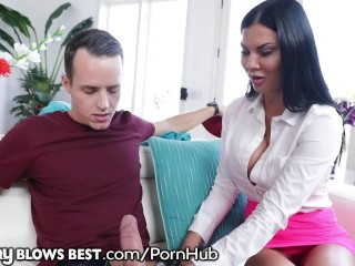 Mommyblowsbest jasmine jae throats stepson - 2 2