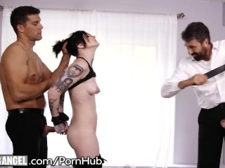 Big Tit Mom Fucks Stepson BurningAngel Nikki Hearts Stuffed by 2 Big Cocks