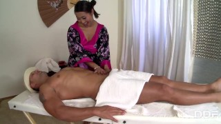 Beautiful Asian masseuse Sharon Lee gets Holed Deep & Hard!  glamour porn massage porn blowjob porn french asian skinny massage brunette reality interracial porn asian porn premium porn hand job ddf porn ddf network sharon lee