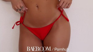 BAEB Welcome home fuck with busty brunette babe Keisha Grey