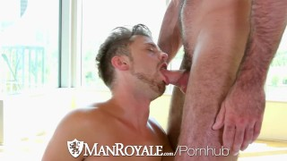 ManRoyale Billy Santoro fucks tight ass Christian Taylor
