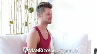 ManRoyale Billy Santoro fucks tight ass Christian Taylor