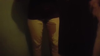 Girlfriend pees her pants