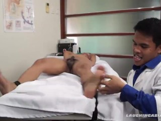 Asian Boy Alex Tied and Tickled
