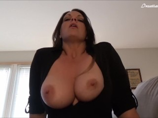 My Friends Hot Mom Anal Insatiable, Drunk Milf Seduces You