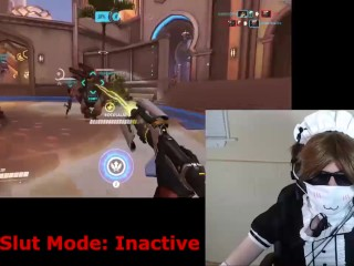 SweetCheeks - Femboy Healslut Plays Overwatch (2017-05-25)