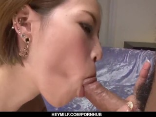 First hardcore on live cam for insolent Ena Ouka