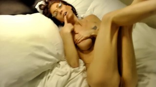 Hot Petite Stepmom with big tits