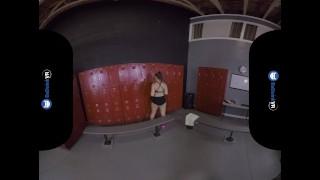 VR Porn Sneaking Into Girls Locker Room On BaDoinkVR porno