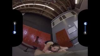 VR Porn Sneaking Into Girls Locker Room On BaDoinkVR Blowjob dick