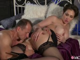 Sexy milf Yasmin Scott gets her pussy fucked and filled with cum