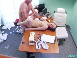 Just Fat Cocks Fucking, Russian babe with amazing slim body gets fucked In doctors offices Teen Euro