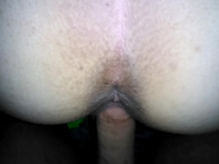 Emma's first experience with anal play