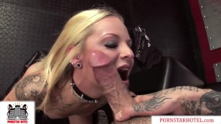 Tiny Petite Teen Faye Runaway Pounded by Thick Cock & takes Massive Facial