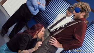 Boss Monique Alexander improves the work environment Brazzers