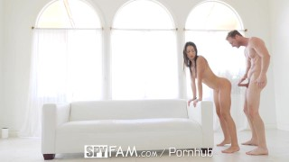 Facialed adams and fucked spying by brother lily step step spyfam sister 4k sister