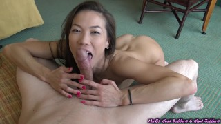 She drained my nutz in the back of her throat (Skill level - EXPERT)  oral creampie mark rockwell marks head bobbers point of view babe mhb cim asian blowjob big dick 60fps mhbhj kalina ryu hand job cum in mouth ocp