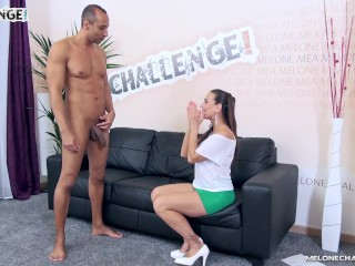 Monster cock Tony Brooklyn cum in hot pornstar Mea Melone