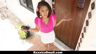 ExxxtraSmall - Skinny Teen Enjoying A Huge Cock Treat