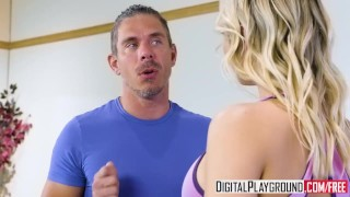 Blue mick digitalplayground downward blair williams dog dpflixxx flexible