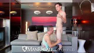 ManRoyale Newly intimate fuck and facial with Kip and Colt Rivers Masturbation wanking