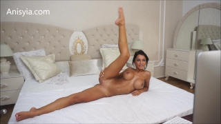 Livejasmin penetration hardcore pussy fuck stretching machine anisyia brunette machines