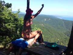 The most amazing amateur sex at an altitude of 800 meters above sea level