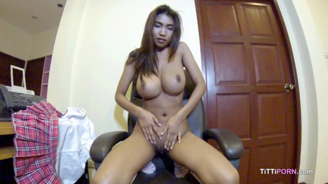 Asian porn big breasts Webcam girl shows off her amazing breasts