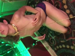 POV Obedient Slave Swallowing Cock