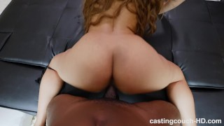 castingcouch hd butt casting natural tits round ass ass licking rimjob interracial first bbc riding dick reverse cowgirl squirting real orgasm