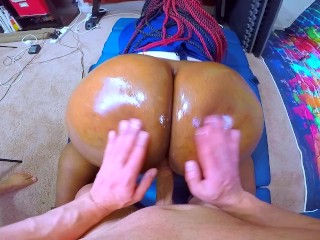 IMPREGNATE ME – Black Cop Whore Takes Intentional Jizz From HUGE White Cock