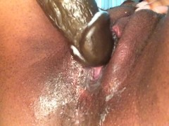 18 year old has an intense squirting orgasm