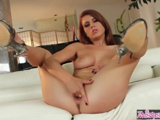Monkey Jerk Fucking, Twistys- Kristine Crystalis in, a Little ass Play Babe Masturbation Pornstar Te
