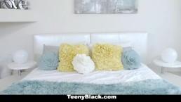 TeenyBlack - Curvy Teen Aaliyah Hadid Gets Banged