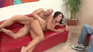 Hot Milf Francesca Le Fucked Hard in front of Husband!!  hard rough sex francesca le brazzers milf husband watches wife big cock cheating brazzers big dick milf hardcore kink brunette mature cougar mother muscle latin bubble butt johnny sins hardcore