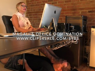 Magali's Office Domination - www.c4s.com/8983/17898256