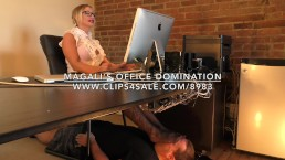 Magali's Office Domination - www.c4s.com/8983/17898256