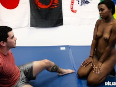 Simone Styles in dominated in wrestling