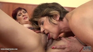 Grannies Hardcore Fucked Interracial Porn with Old Women loving Black Cocks Ass 4some