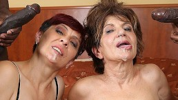 Grand mères baisées hardcore, porno interracial avec des vieilles qui aime les bites noires
