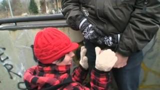 teen gets fucked by grandpa in public Dyke dildo