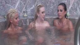 Behind the Scenes for a Bathtub Three Way