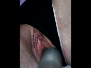 Masturbating my little pussy