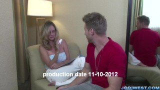 Jodi West in Mother's Special Massage Perky tits