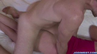 Jodi West in Mother's Special Massage Cheating point